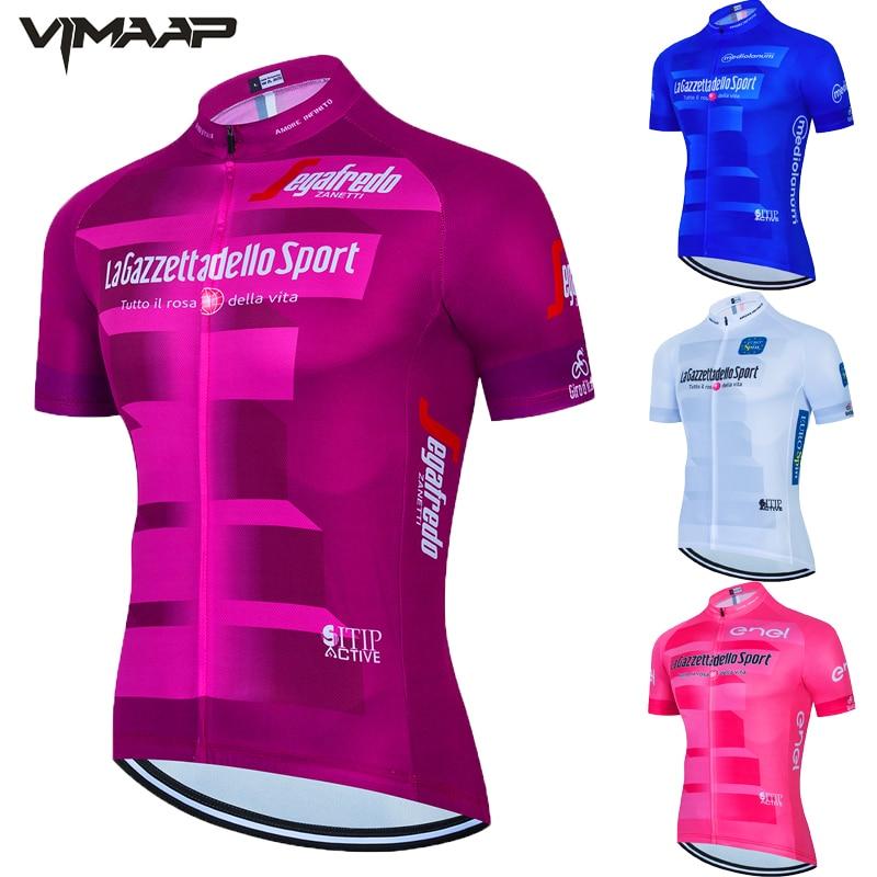 Tour de ITALIA Ciclismo Jersey manga corta verano Tops MTB Ciclismo camiseta...