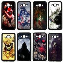 Mobile Phone Cases Monsters Skull Badass Dark Arts Hard PC Cover for Samsung Galaxy J1 J2 J3 J5 J7 2015 2016 2017 ON Prime Shell