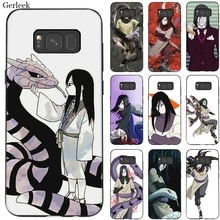 Étui de téléphone portable Pour Samsung Galaxie A70 A60 A50 A40 A30 A20 A10 A10s A20s A30s A40s A50s A3 A5 A6 A7 A8 A9 Couverture Orochimaru