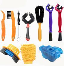 10 Stuks Per Set Fiets Chain Cleaner Draagbare Fiets Brush Scrubber Wash Tool Mtb Fietsen Cleaning Kit Fiets Onderhoud Tools