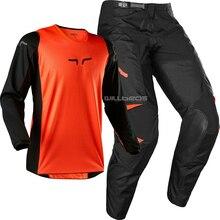 Méchant FOX Prix de course pantalon   Pantalon pour maillot, course 2020 Combo MX Motocross ATV UTV SX Orange tout-terrain pour hommes