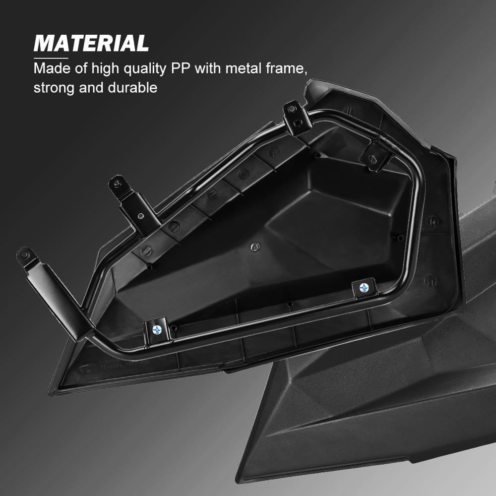 RZR UTV Lower Door Panel Inserts for Polaris RZR 900 1000 XP S Turbo 2014 2015 2016 2017 2018 2019 2020 Aluminum enlarge