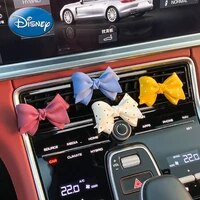 disney small fresh bow car perfume aromatherapy air conditioning air outlet clip car interior decoration deodorant supplies