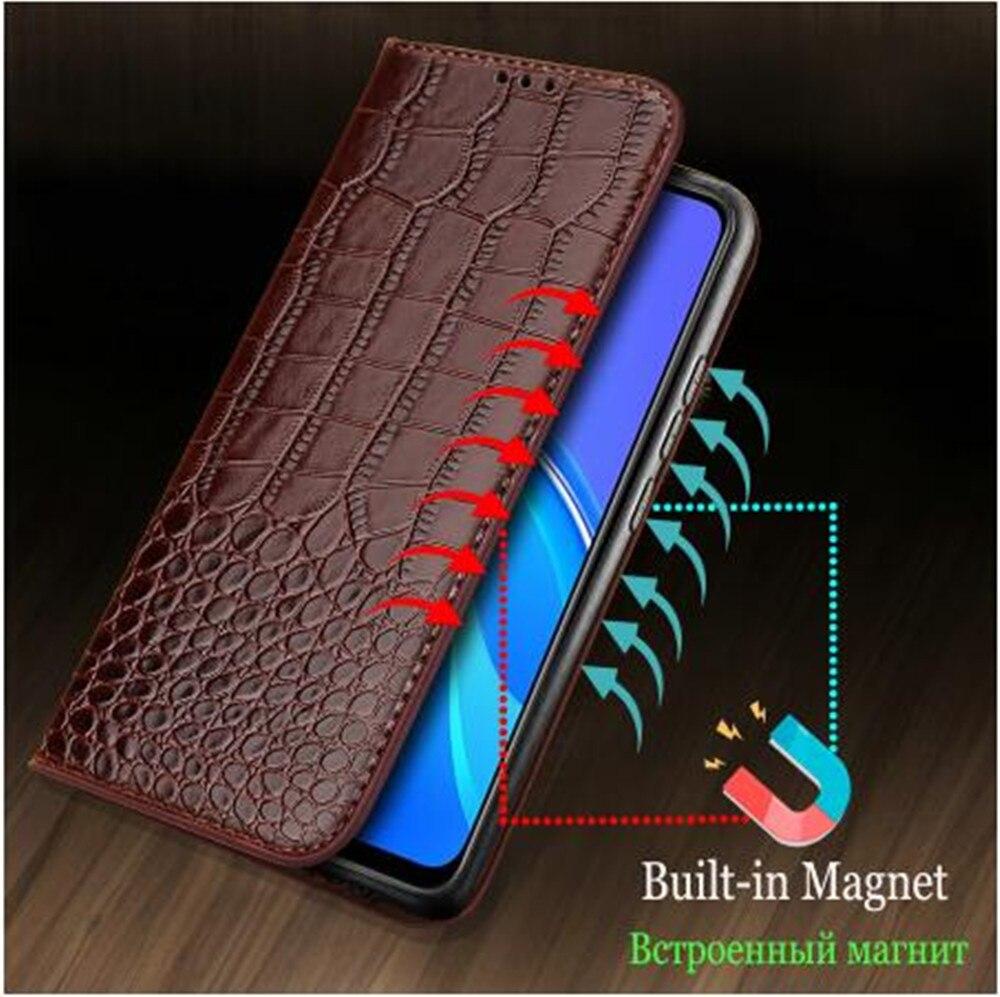 Funda magnética de cuero para móvil, funda tipo billetera para Microsoft Nokia...