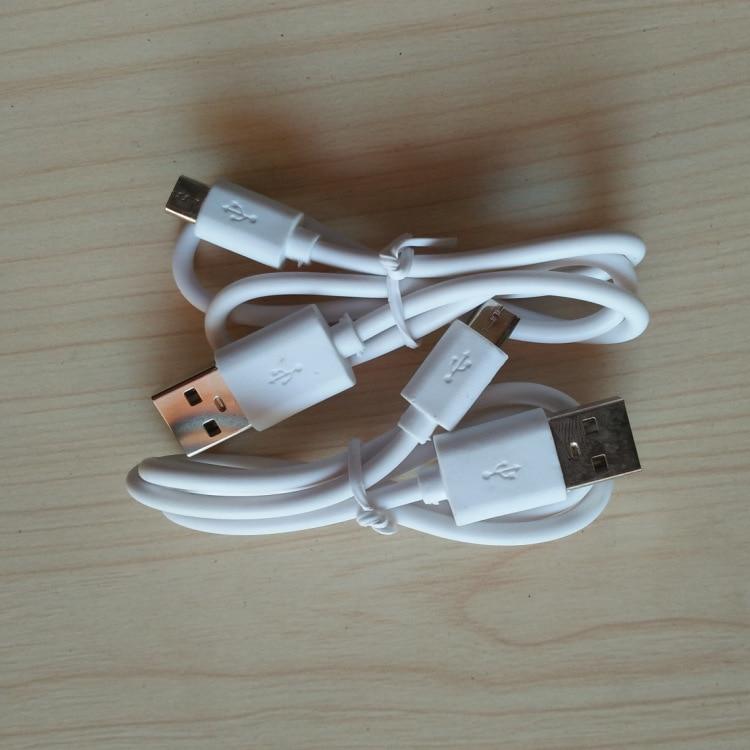 25-30cm v8 porto micro usb carregador cabos para samsung htc android telefone power bank mp4 carregamento cor branca