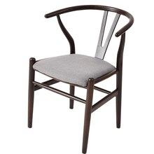 Massivholz Esszimmer Stuhl Kreative Studie Massivholz Hocker Rückenlehne Lounge Stuhl Y Stuhl Café Tisch Und Stühle Hause Stuhl