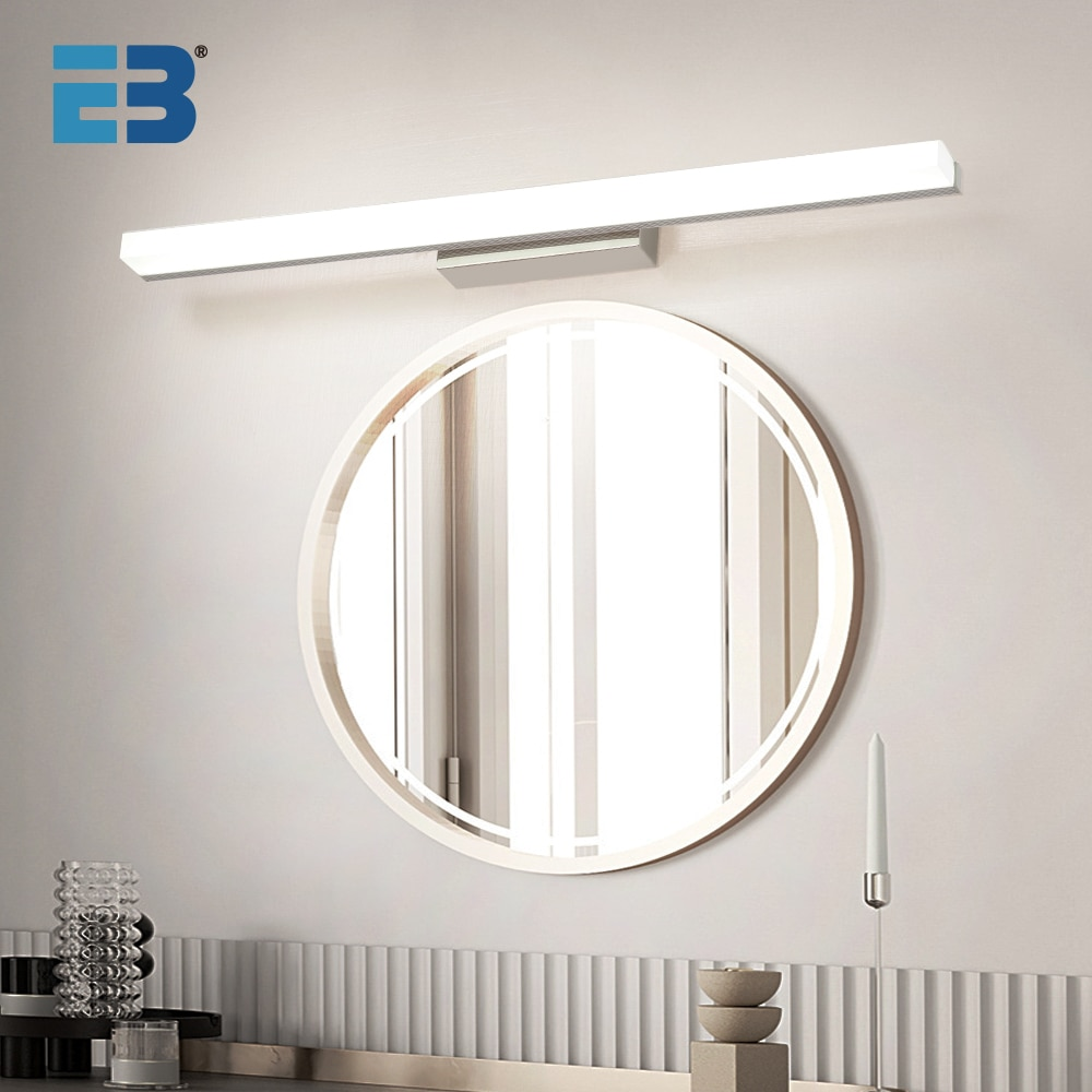 Morden Bathroom Light Wall Bathroom Mirror With Led Light 8W 10W 12W Waterproof Wall Light Nordic Lamp for Home Wall Sconce Lamp dimmable led vanity light fixture for bathroom black wall light lamp for mirror vintage bronze wall lamp sconce 8w 11w 15w