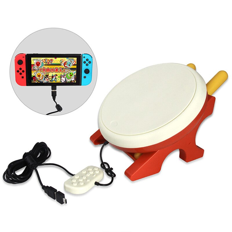 for Nintend Switch Gaming Drum For NS Joy-Con video game Taiko Drum For Nintendo Switch Taiko no Tatsujin Video Game Accessories enlarge