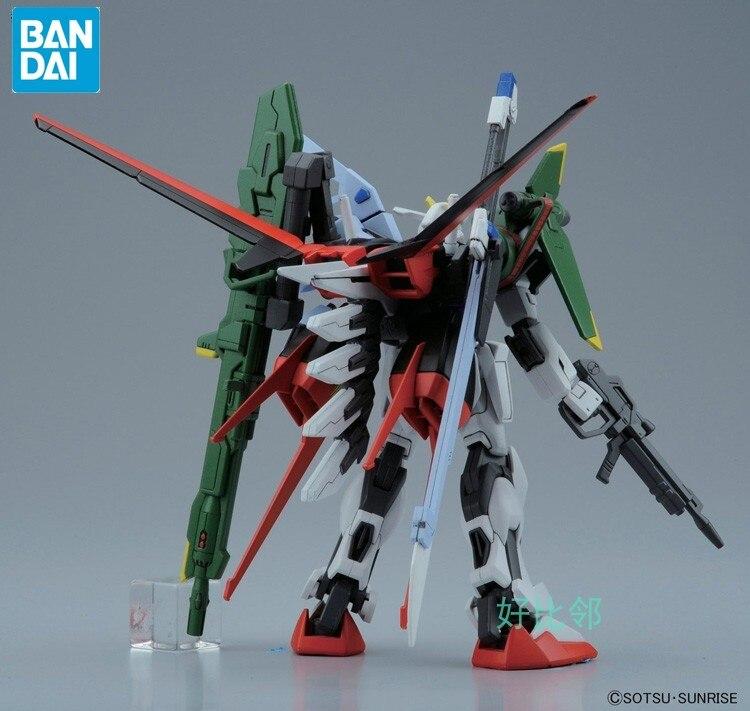 BANDAI GUNDAM HG 1/144 SEED R17 perfect Strike Gundam model assembled Anime action figure toys Decoration Kids Toy Gift