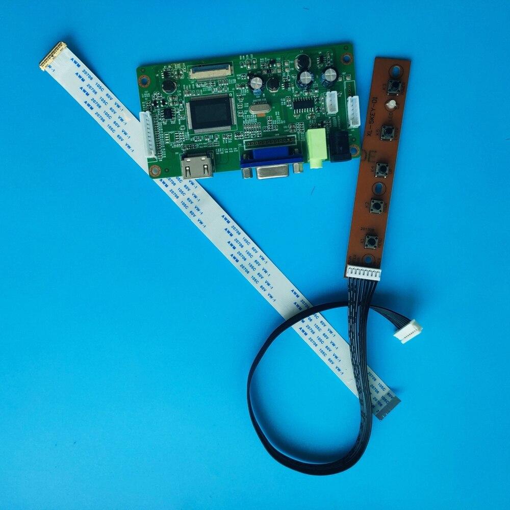 "B133HAN04.1 키트 용 VGA 스크린 디스플레이 40 핀 13.3 ""1920 × 1080 컨트롤러 보드 드라이버 LED 모니터 LCD EDP"