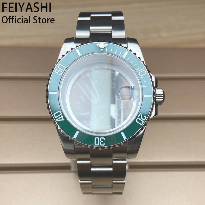 Men's Submariner watches Bracelet 40mm 316L Stainless Steel Sapphire case Watchband  nh35,36 8215 dial movement Ceramic Bezel enlarge