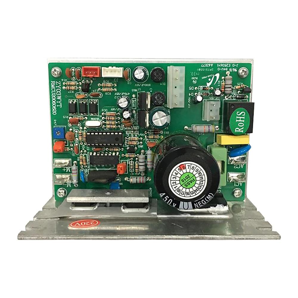 Esteira rolante placa de circuito placa de substituição 3pin esteira rolante controlador placa-mãe zy03wyt para yijian esteira 9007acd reparação parte
