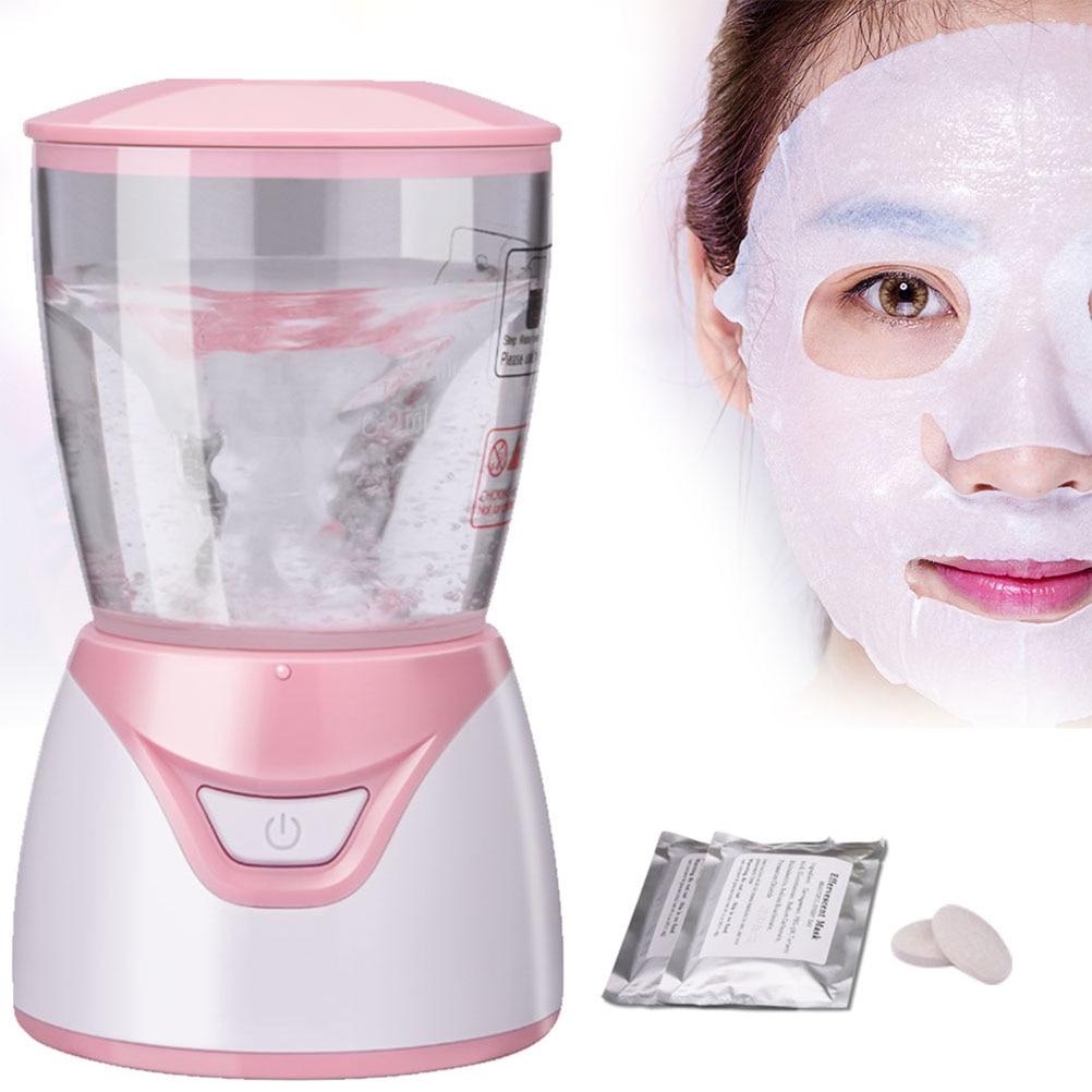 قناع الوجه صانع آلة علاج الوجه DIY بها بنفسك التلقائي الفاكهة الطبيعية الخضروات الكولاجين المنزل استخدام صالون تجميل سبا الرعاية