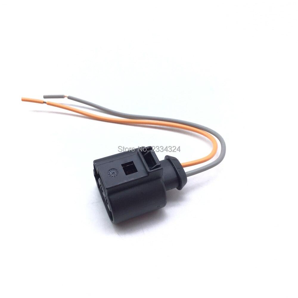 1J0973722A задний ручной тормоз мотор штангенциркуль кабельный жгут для Audi RS5 A4 A5 A6 VW Passat B6 B7 Tiguan Seat Alhambra 2 pin