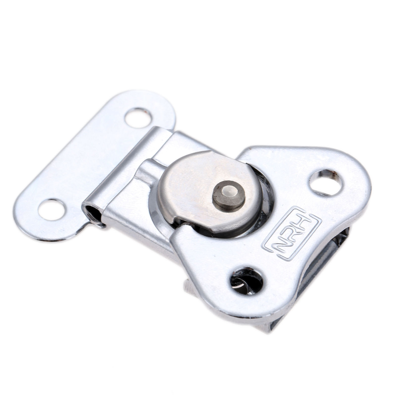 Válvula de Borboleta do Aço inoxidável Alternar Trava Pegar Braçadeira caixa de Ferramentas Caixa De Madeira Fivela de Bloqueio Rotativo Para Caso Do Vôo 52*38mm