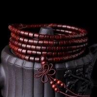 sandalwood rosewood 4mmx5mm buddha beads authentic himalayan bracelet yoga zen