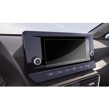 RUIYA سيارة بيت واقي للشاشة ل ليون MK4 نافي نظام 8.25 بوصة 2020 غس الملاحة اللمس مركز عرض السيارات الداخلية 2 قطعة