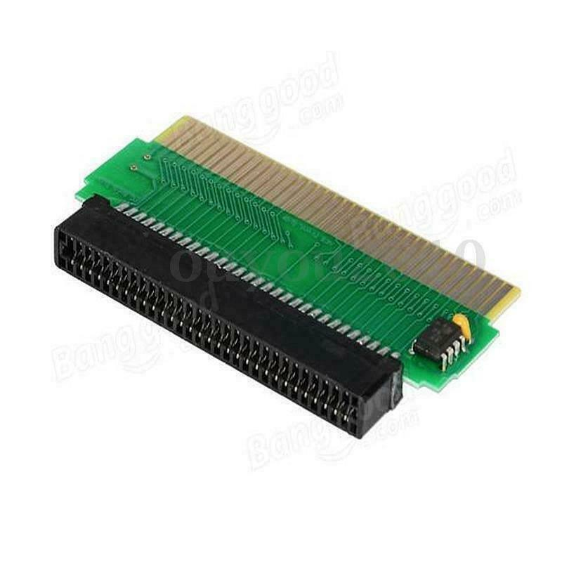 Convertidor adaptador de cartucho de juego de 60 a 72 pines para Nintendo Famicom FC a NES