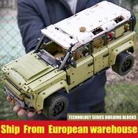 mould king 13175 off road vehicle compatible defender assembly model building blocks bricks christmas toy