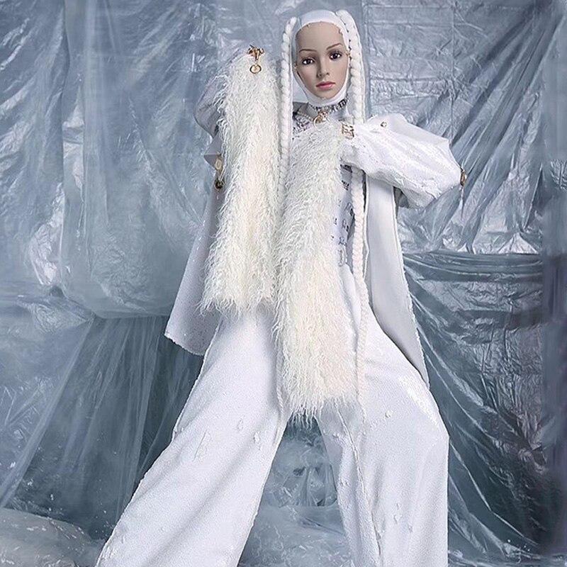 زي راقص للبالغين من Gogo زي ثلاثي الأبعاد للرقص ملابس غربية ملابس DJ DS ملابس نادي Qrag Queen DL7721