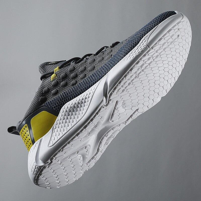 Zapatillas De deporte transpirables De malla De aire para hombre, calzado para...