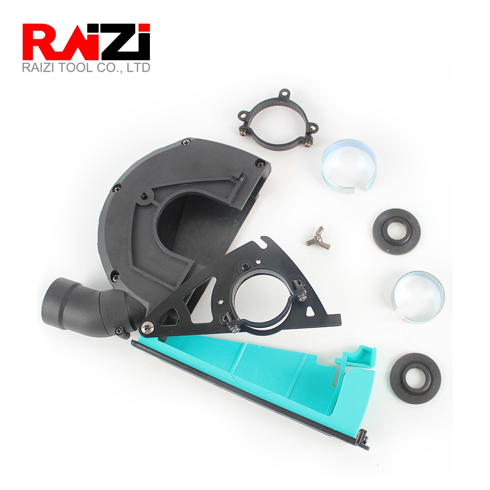 Raizi Angle Grinder Cutting Dust Shroud For Diamond Saw Blade Cutting Disc 5inch/125 mm Dust Cover Dust Collector Attachment enlarge
