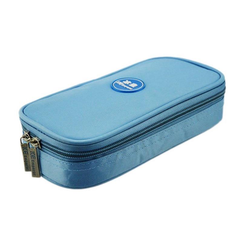 Waterproof Portable Diabetic Organizer Cooler Bag Travel Case Diabetic Medication Organizer Cooler Bag