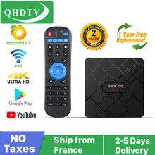 Leadcool TV box android qhdtv RK3228A Quad Core 1GB/2GB DDR3 8GB/16GB ROM 2.4G Wifi 4K full HD Lxtream code Android Smart TV BOX