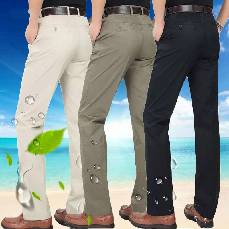Мужские костюмные брюки, модный бутик, хлопковые однотонные хаки, официальные мужские строгие брюки, Формальные Свадебные брюки для жениха