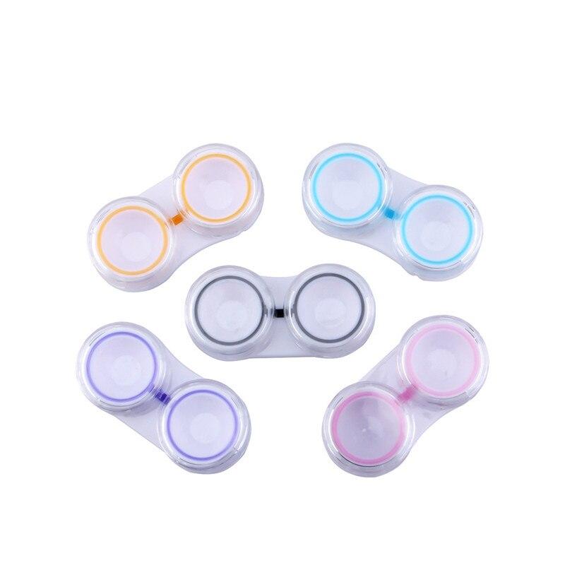 5 шт. косметическая коробка для контактных линз чехол для контактных линз портативный контейнер для очков аксессуары для путешествий