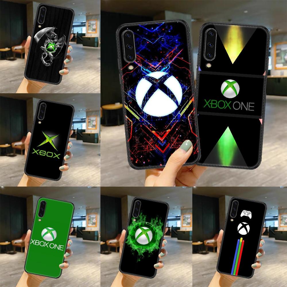 Game xboxs Phone case For Samsung Galaxy A 3 5 7 8 10 20 21 30 40 50 51 70 71 E S 2016 2018 4G black silicone hoesjes art bumper
