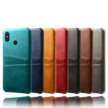 Coque en cuir PU avec fente pour carte, étui pour Xiaomi Mi Max 3 2 Mix 2s 2 3 Pocophone f1 Poco F1 Mi Play max3 max2