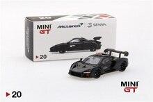 مصغرة GT 1: 64 ماكلارين سينا الجزع الأسود TSM دييكاست نموذج سيارة