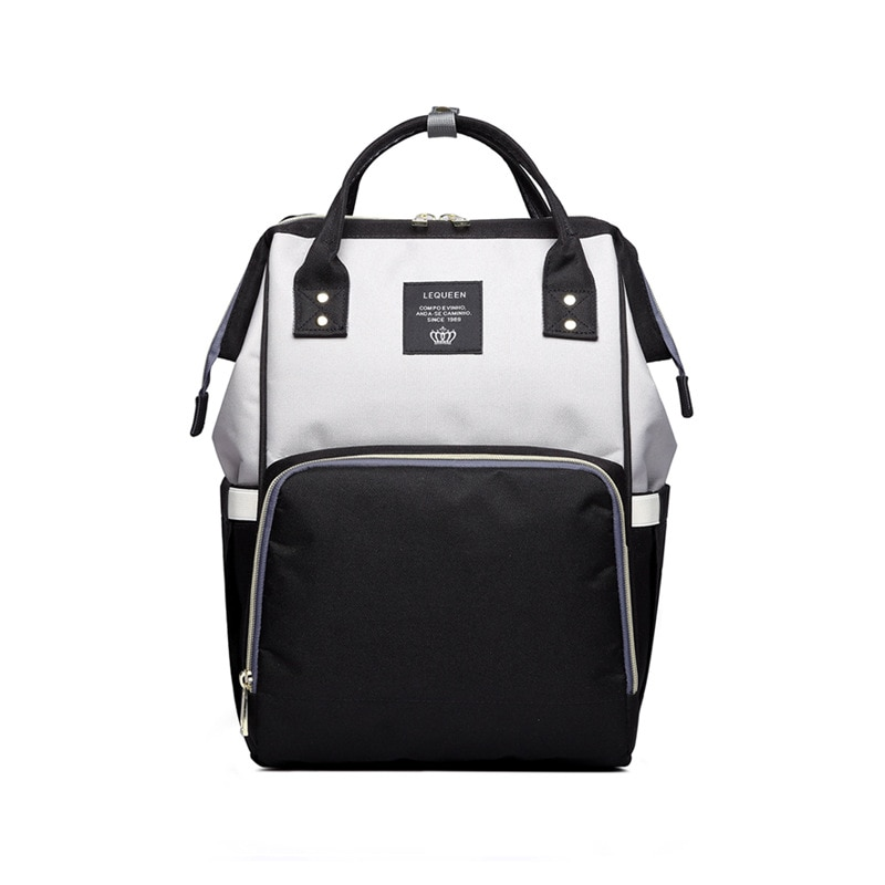 Waterproof Zipper Travel Mommy Backpack Casual Baby Nursing Nappy Bag Handbag Practical And Durable Gifts