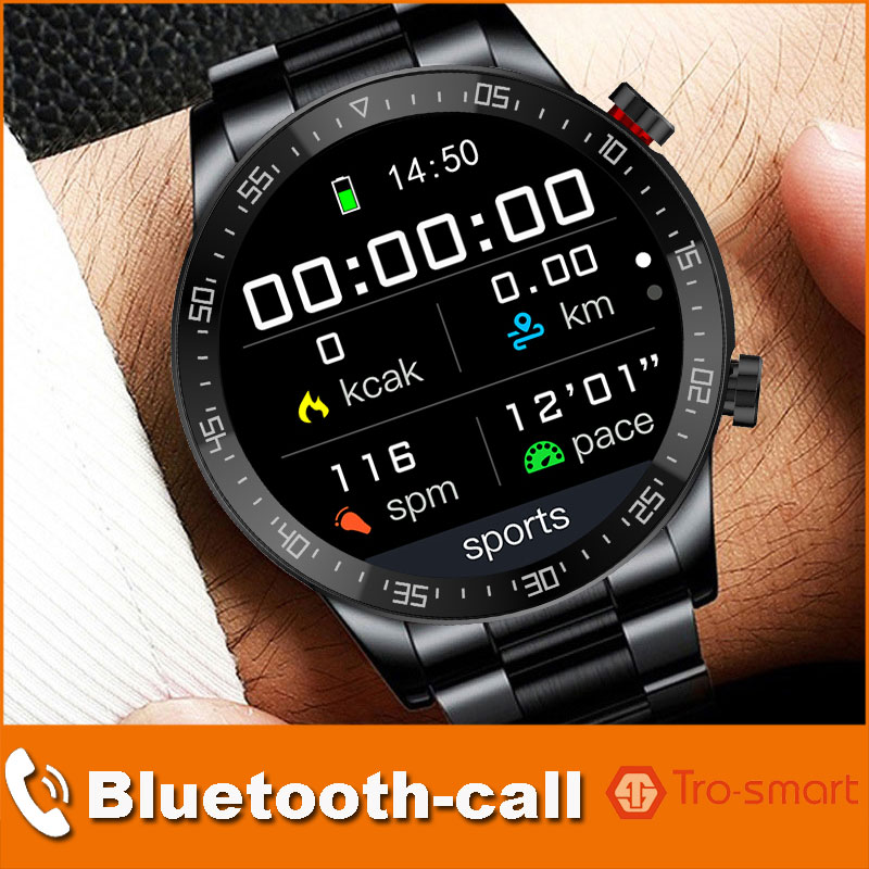 Dial Call Digital Watch Men Sport Watches Electronic LED Male Wrist Watch For Men Clock Full Touch
