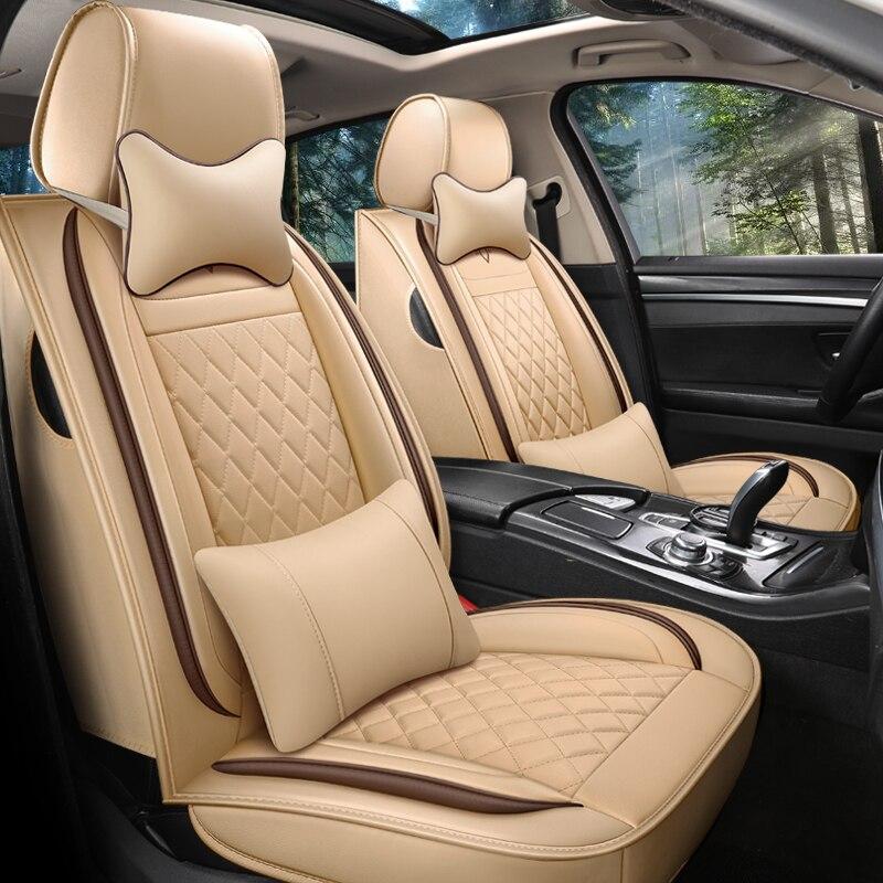 Front + back Full abdeckung auto sitz abdeckung für Hyundai Santa Fe Equus H-1 Elantra Akzent SONATE i30 i40 SOLARIS auto Zubehör