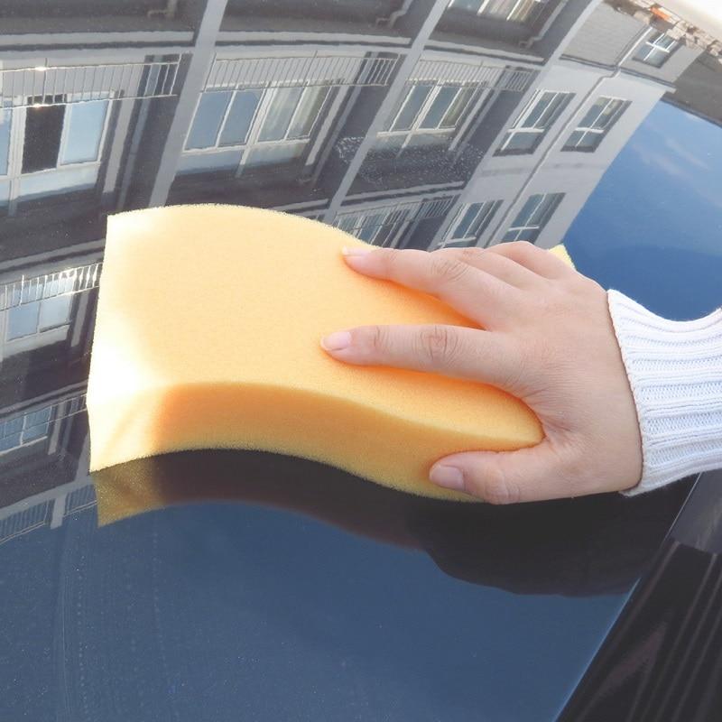 Double-sided large square sponge sponge sponge compressed sponge honeycomb coral car sponge