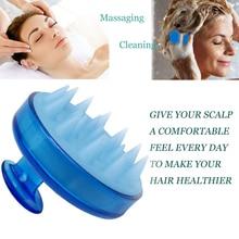 Hair Scalp Massager Silicone Hair Brush Shampoo Brush Comb Head Spa Slimming Massage Body Hair Washi