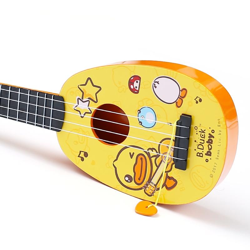 Cartoon Cute Print Ukulele Musical Instrument for Beginner Basic Players Gift 4 Strings Guitarra  Classical Ukulele Guitar enlarge