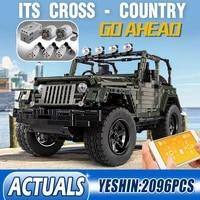 mould king 13124 high tech remote control car adventurer off road vehicle building blocks bricks kids moc 5140 toys for boys