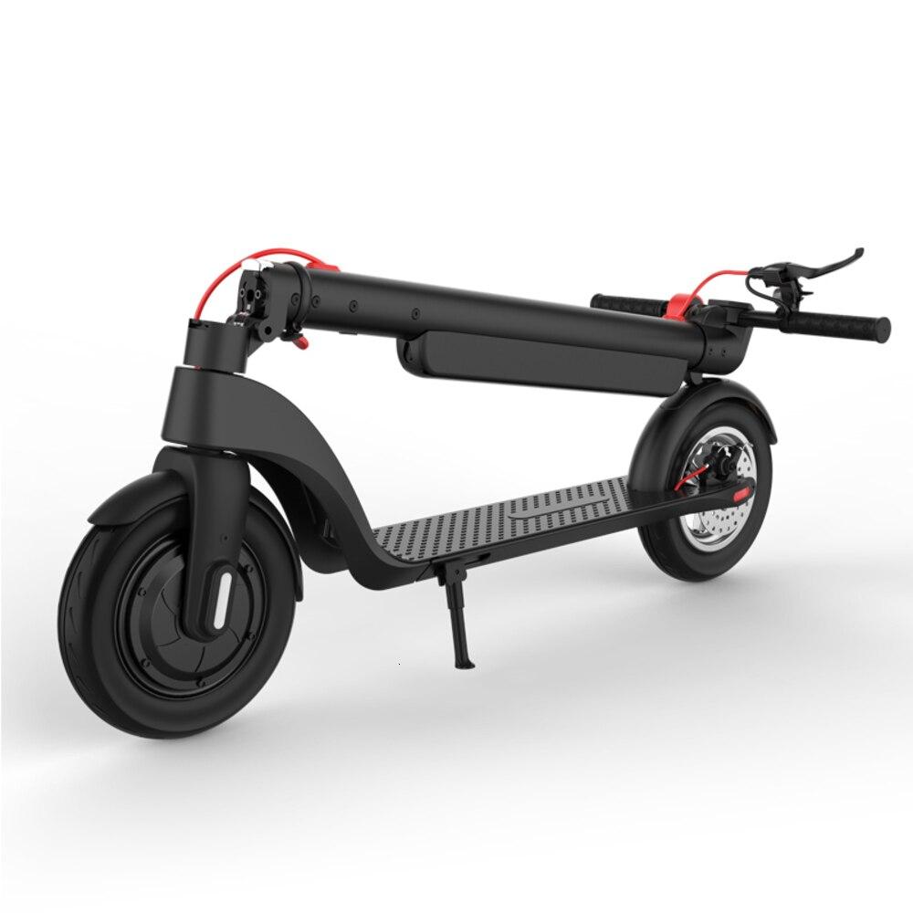 Scooter Eléctrico plegable 8,5 pulgadas/10 pulgadas a prueba de explosión neumático sólido 350W Motor e-scooter soporta 330lbs