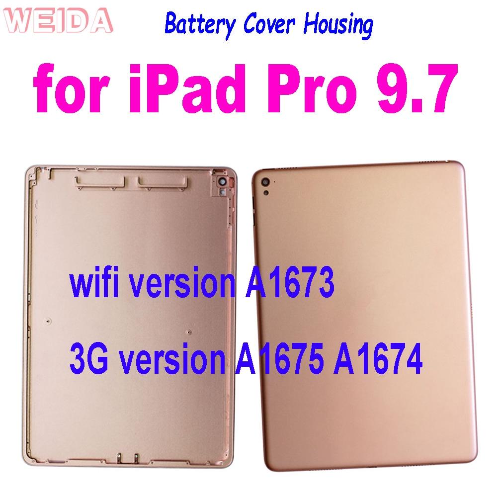 جديد عودة غطاء البطارية لباد برو 9.7 بوصة A1673 واي فاي/3G نسخة A1675 A1674 الإسكان الخلفي الإسكان الغطاء الخلفي