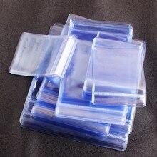 50 Uds. Bolsas gruesas de Opp para sellar el paquete de protección joyería a prueba de agua embalaje transparente bolsas de plástico de alta calidad Venta caliente