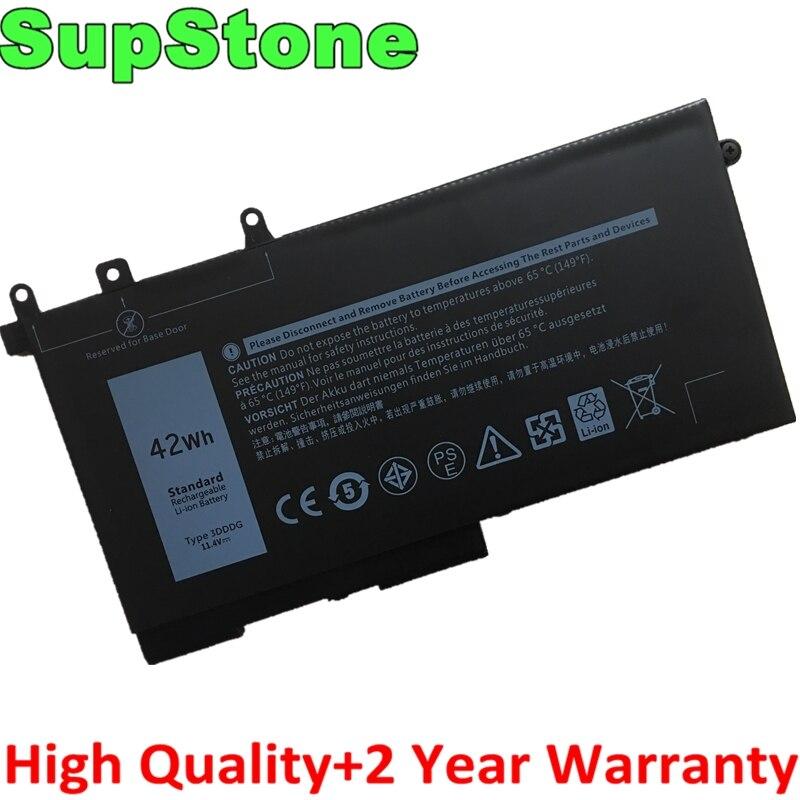 SupStone Novo 3DDDG GJKNX GD1JP bateria do portátil para Dell Latitude 5280 5288 5480 5490 5495 5580 5590 5491 5591 5488 M3520 M3530