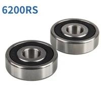 2 pcs bike bearings durable steel bicycle mini moto models 47cc 49cc 6200 2rs bearing bike accessories cycling parts 10x30x9mm