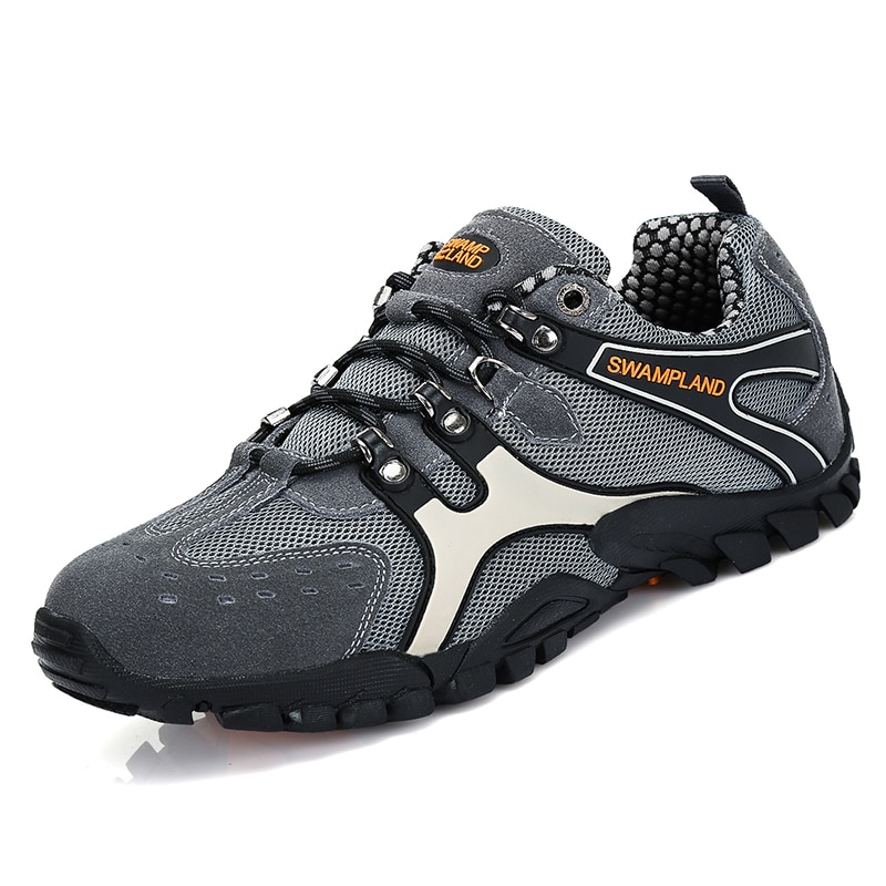 Envío a Reino Unido, zapatos de senderismo para hombre, Trekking al aire libre, zapatillas de escalada, zapatos deportivos para hombre, botines para senderismo, zapatos antideslizantes para hombre