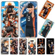 Haiku hinata cks Anime volley-ball Bling mignon étui de téléphone pour Samsung S6 S7 bord S8 S9 S10 e plus A10 A50 A70 note8 J7 2017