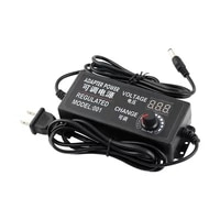 adjustable power adapter 3v 12v 3v 24v 9v 24v universal power supply 2a 3a 5a ac to dc adapter with regulation display screen
