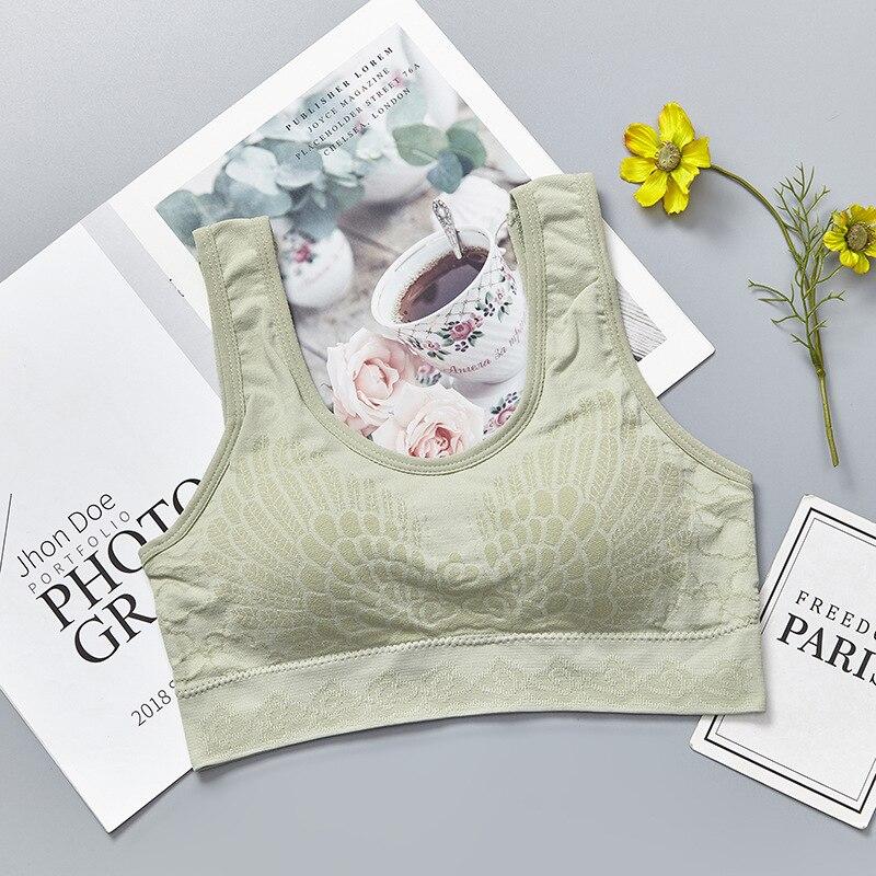 Vertvie Women's Adjustable Full Cup Sports Bra Quick Dry Shockproof Wire Free Underwear