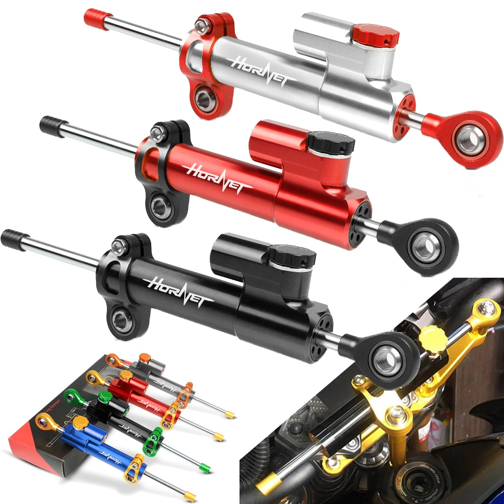 For HONDA hornet 250 600 900 CB400 CB599/CB600 Hornet CB600F 2007-2012 2008 Motorcycle Adjustable Steering Damper Stabilizer hornet